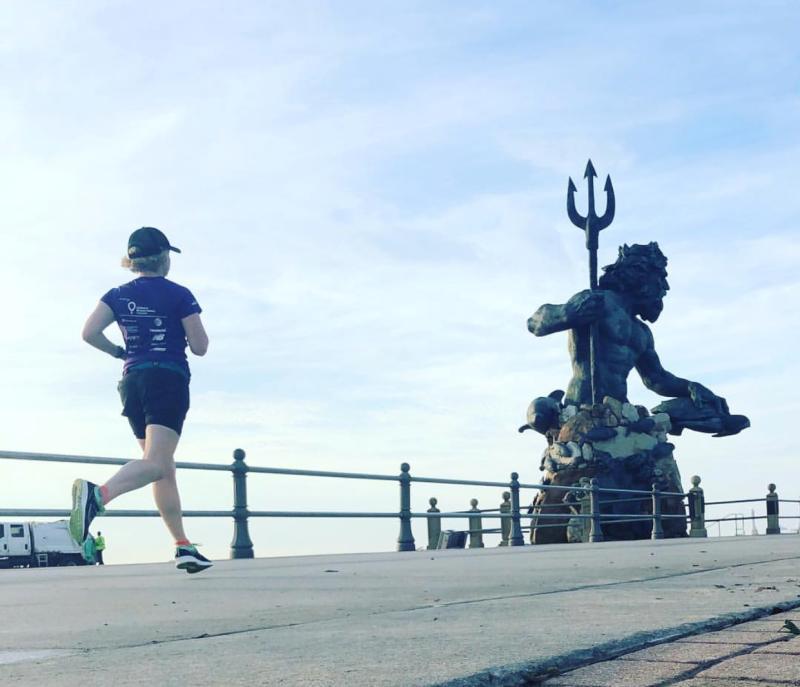 Running on the Boardwalk