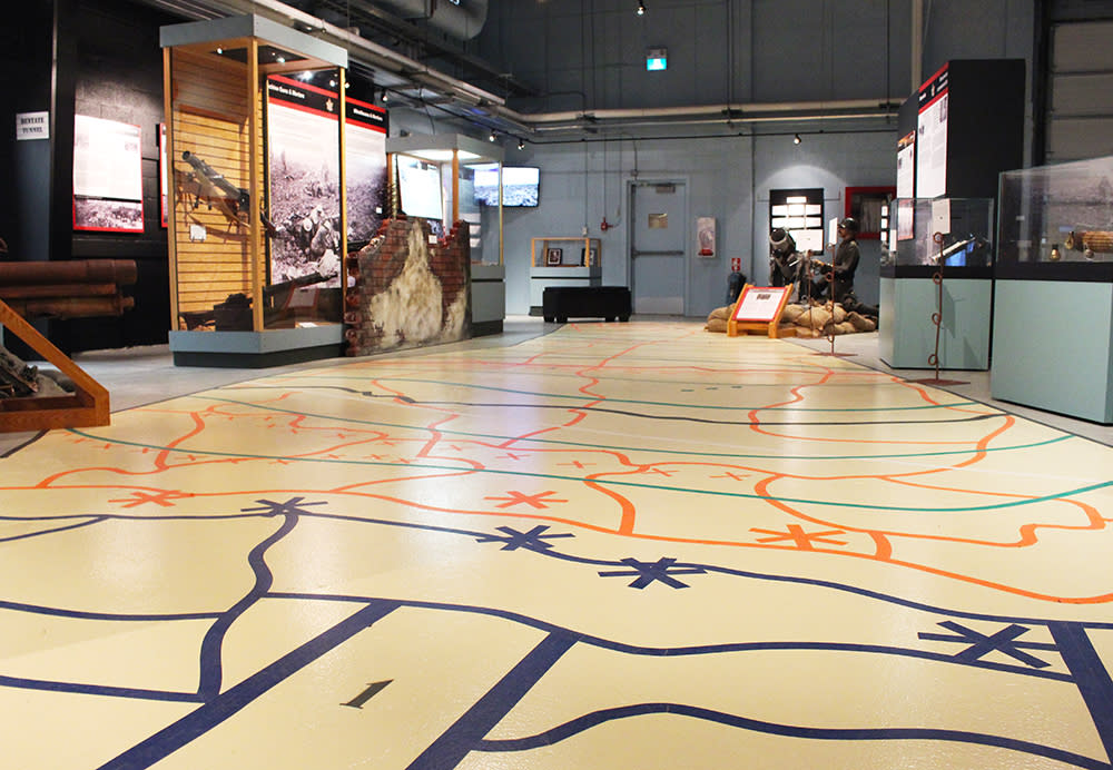 In the Footsteps of Vimy Ridge at the RCA Museum in Shilo, Manitoba