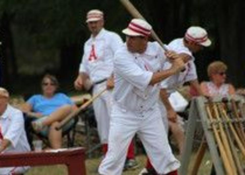 Old time Base Ball at Genesee Country Village & Museum