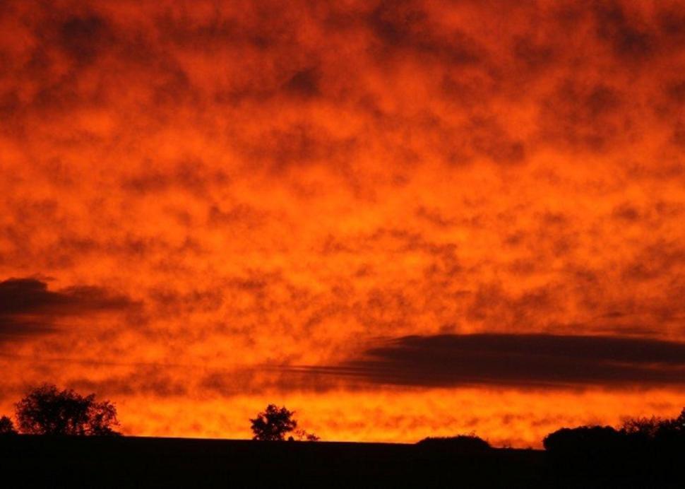 Sunset at Cobtree