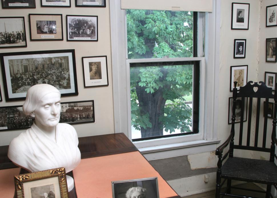 Visit the home of Susan B. Anthony in Rochester, NY