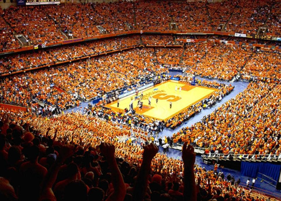 Carrier Dome - Interior