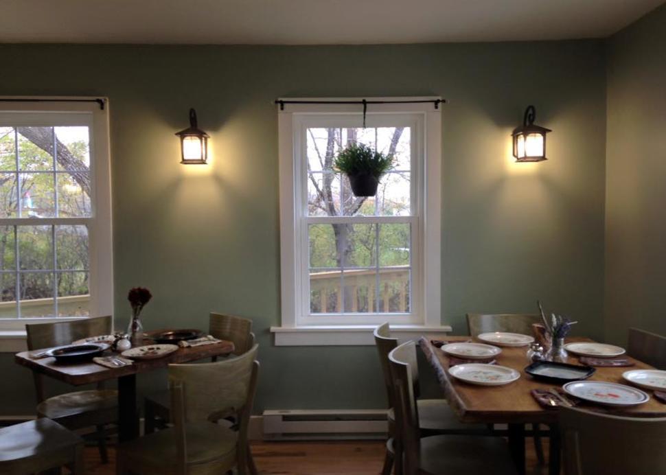 Quaint dining on the Seneca Lake Wine Trail