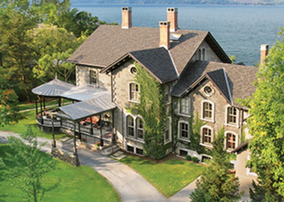 EB Morgan House Aerial View
