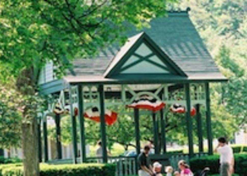 Hammondsport Village Square gazebo