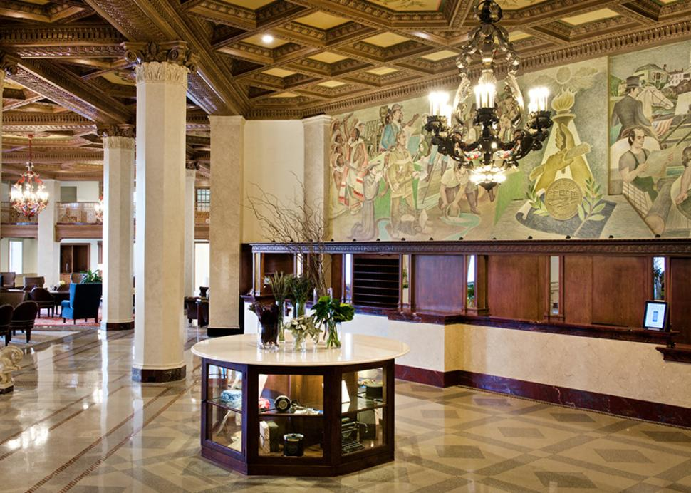 Front Desk off Lobby