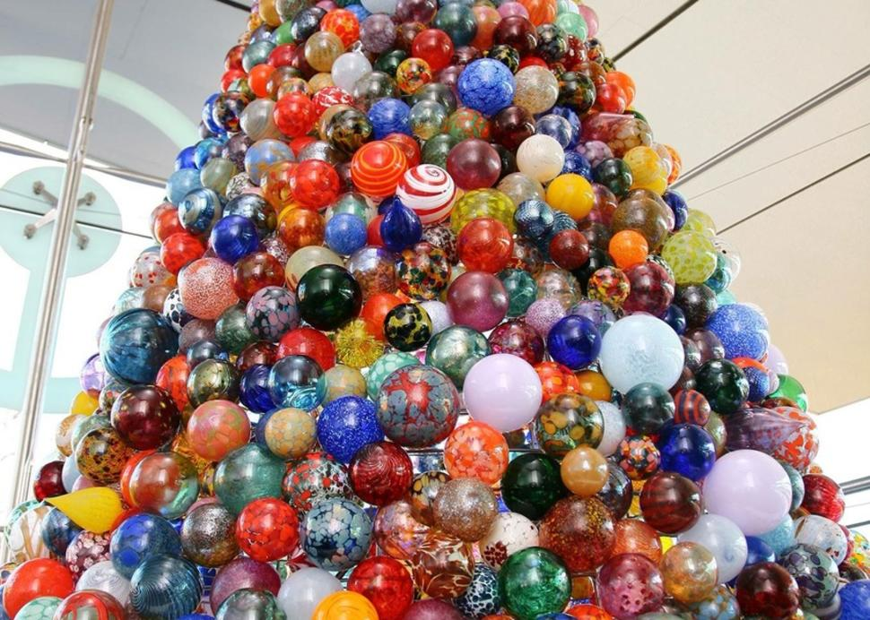 Holiday Ornament Tree in The Shops