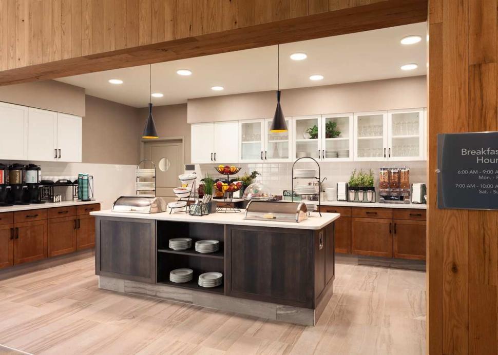 Homewood Suites Breakfast Buffet