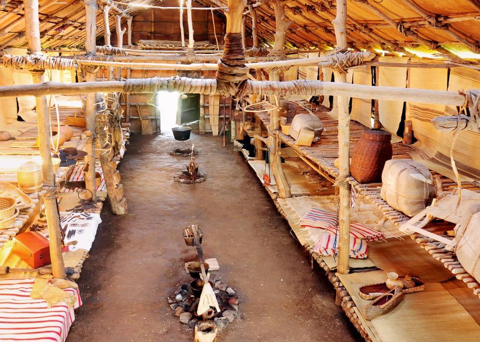 Ganondagan Longhouse