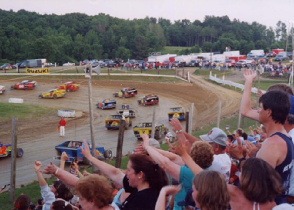 Photo courtesy of Woodhull Raceway