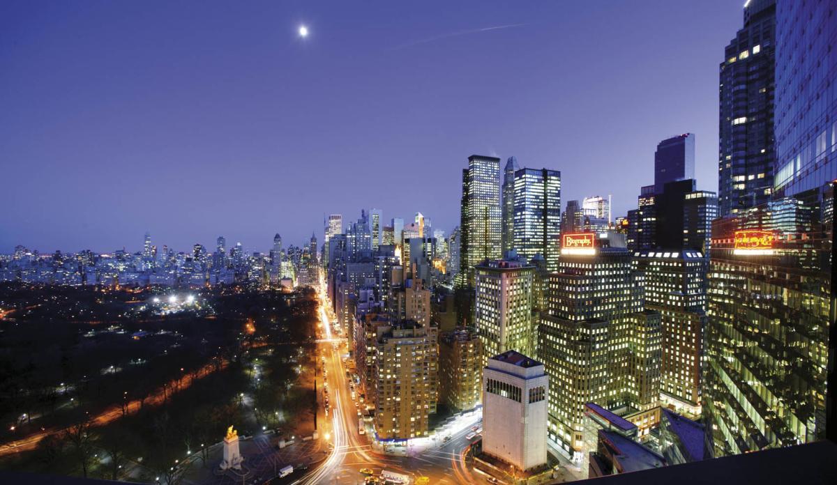 Columbus Circle View, Mandarin Oriental