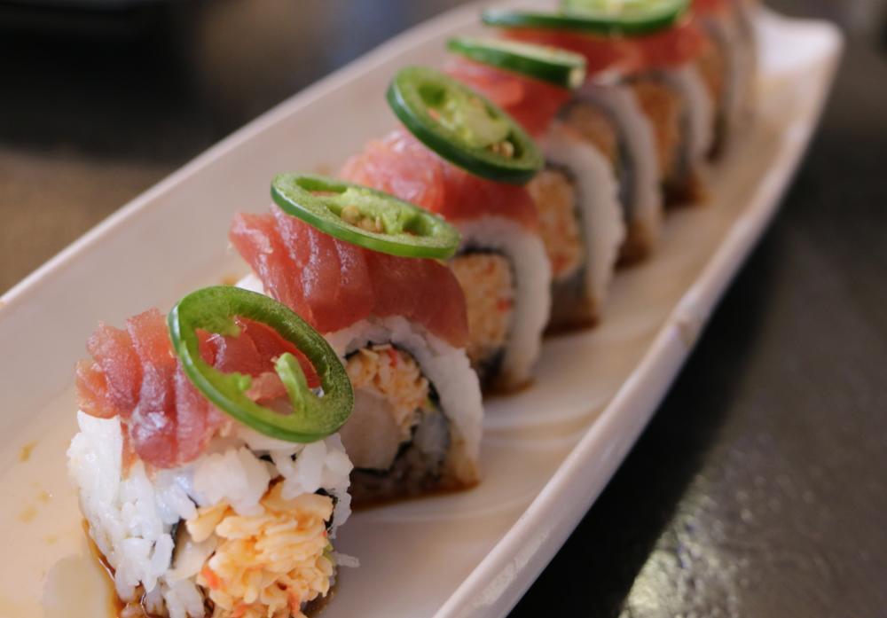 Spanish Fly Maki from Rain premiere sushi bar