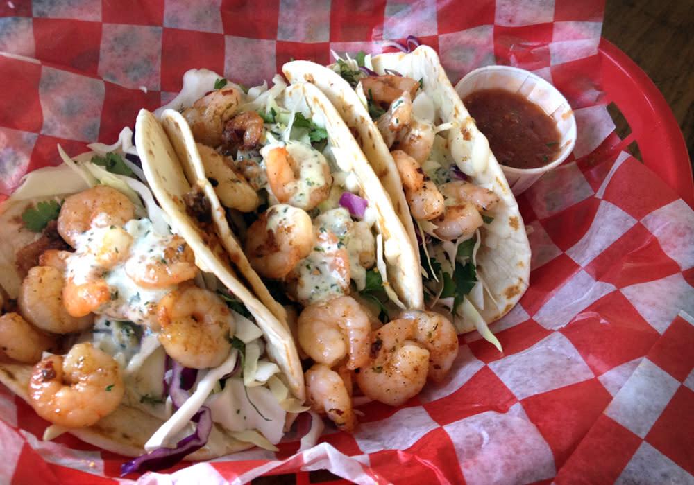 Shrimp Tacos - Tia Juanita's