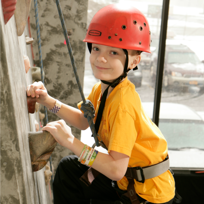Climbing at Rock Ventures, Rochester, NY