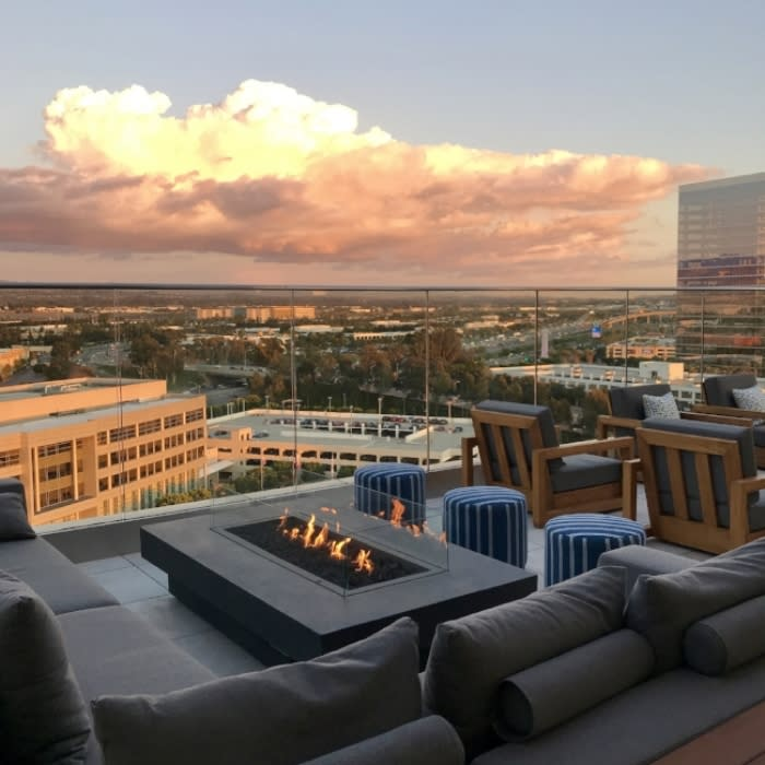 The Rooftop Bar at Hive and Honey