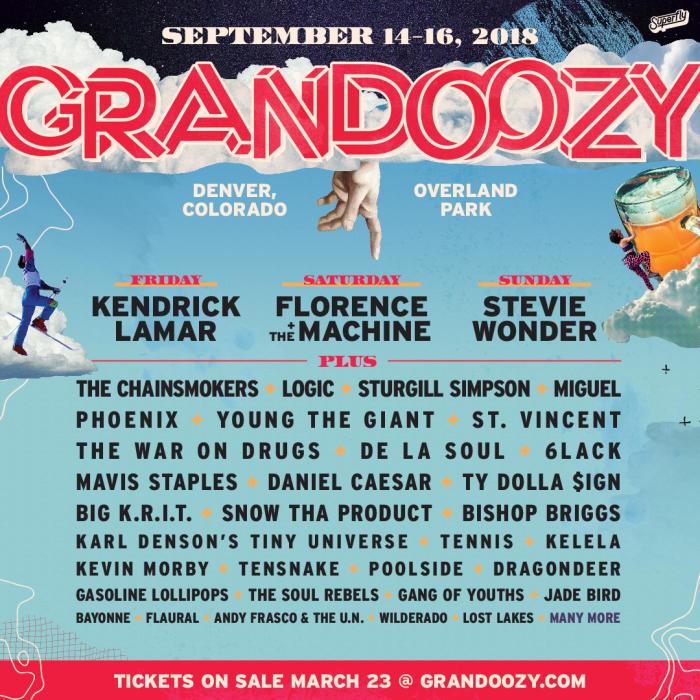 Grandoozy Lineup