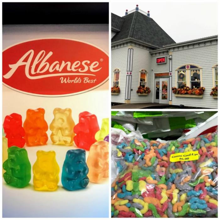 The Albanese Candy Factory in Merrillville, Indiana. Yummy stop!