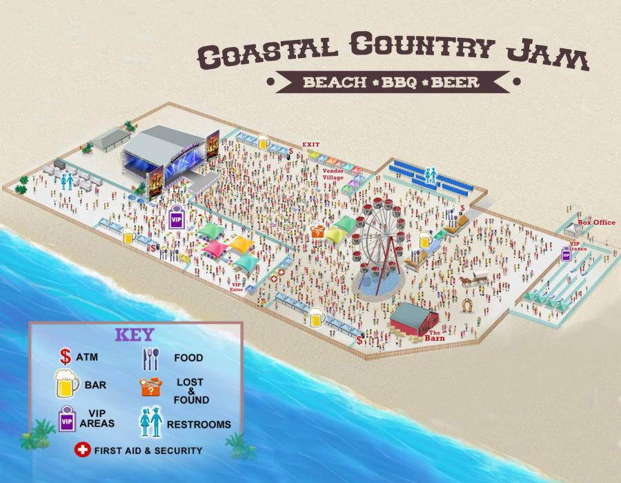 Huntington Beach Country Coastal Jam