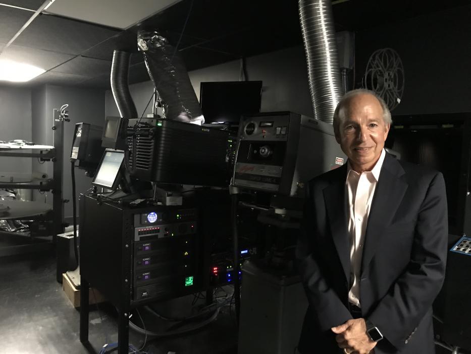 Sam Scott Bryn Mawr Film Institute Projectors