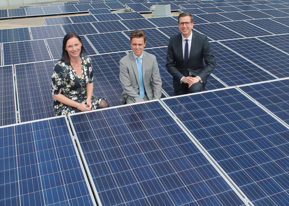 largest CBD rooftop solar project at Crown Melbourne