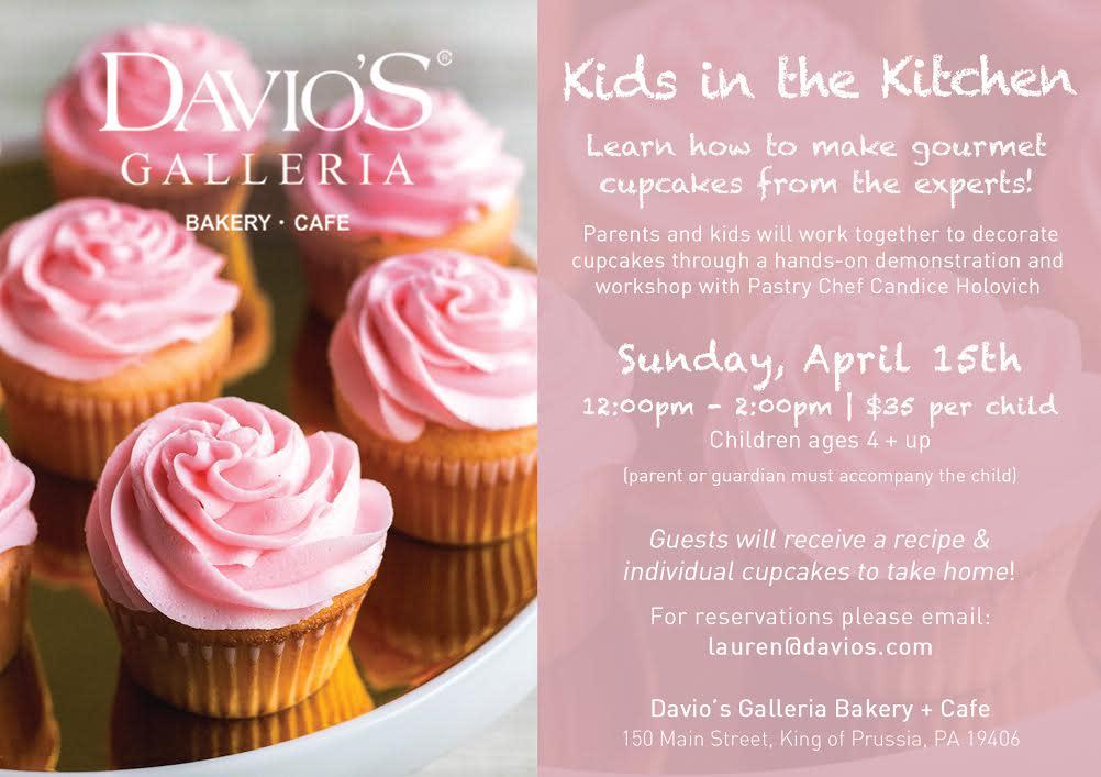 Davio's Cupcakes