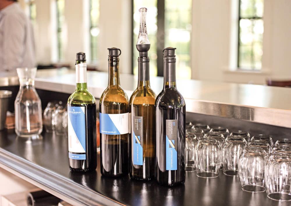 Upper Shirley wines