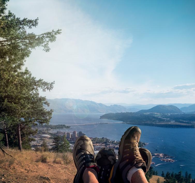 Knox Mountain Hiking