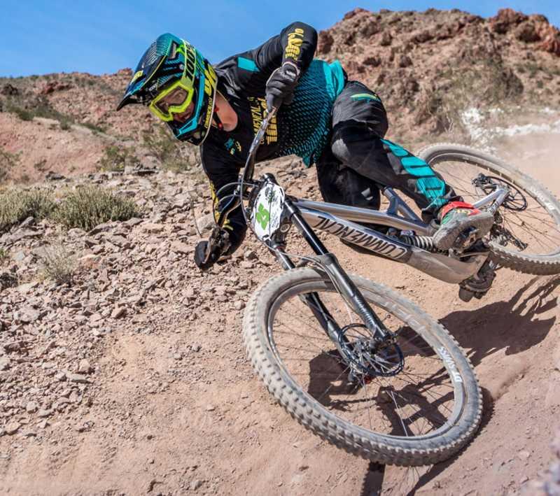 Nevada State Gravity Mountain Bike Racing at  Bootleg Canyon - Cover Photo