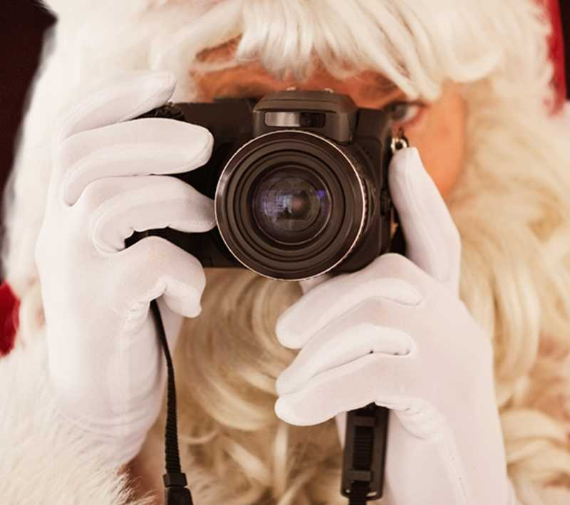 Santa's Picture Party - Cover Photo