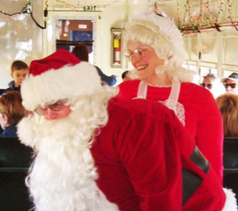Nevada State Railroad Museum Santa Train - Cover Photo