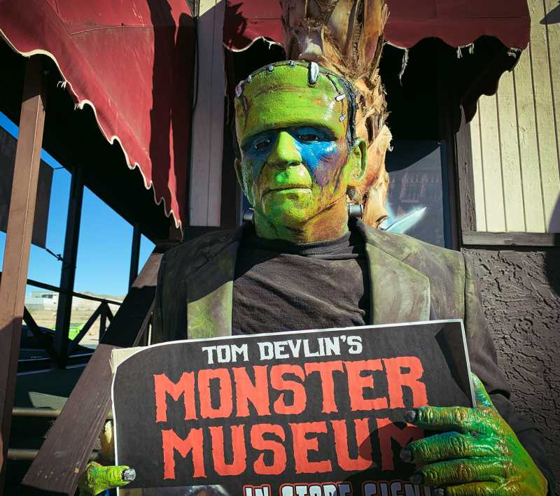 Nightmare at the Museum - Haunted House - Cover Photo