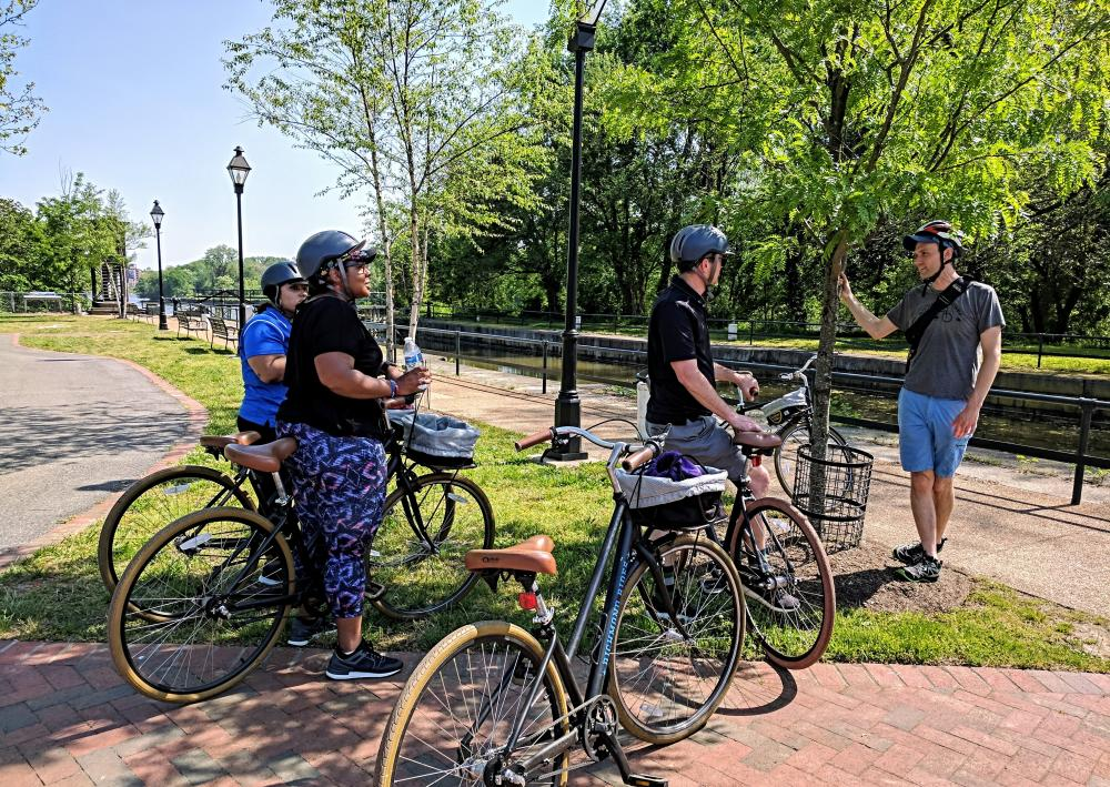 Richmond Rides Along the River bicycle tour
