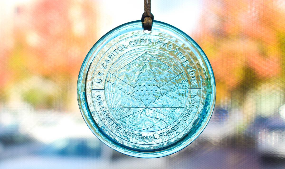 Capital Christmas Tree Ornament from Visitor Center