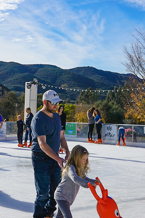 Temecula on Ice Skating Rink Old Town Temecula