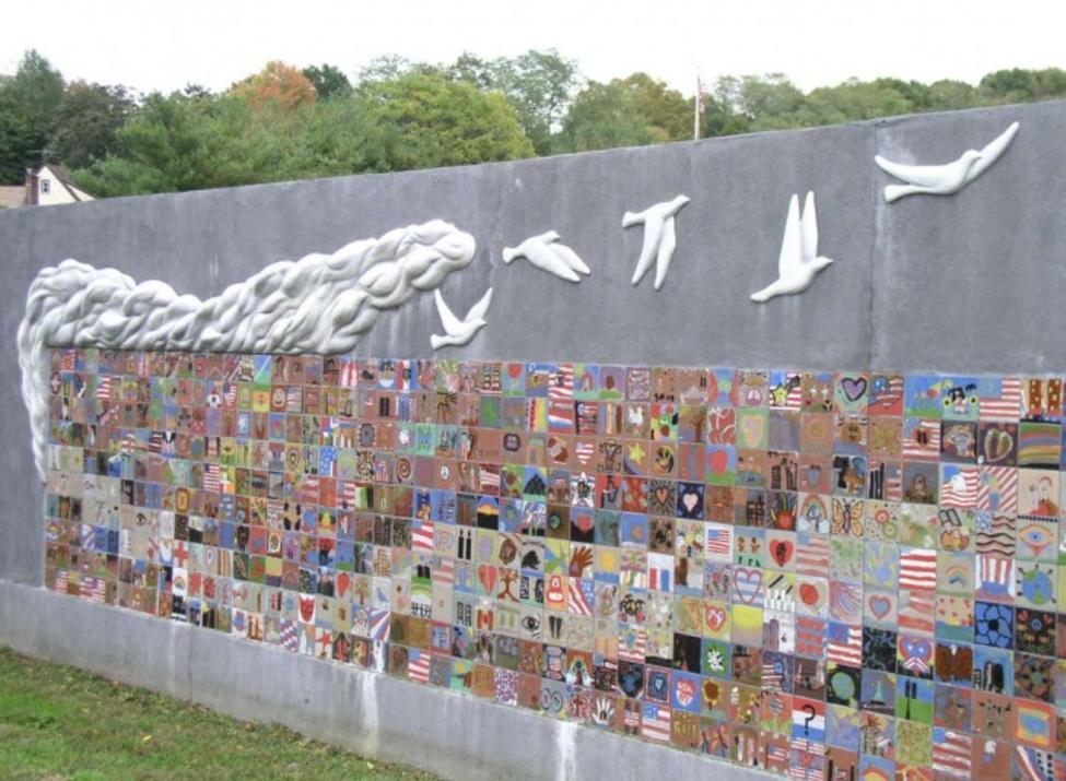 september 11 memorial mural
