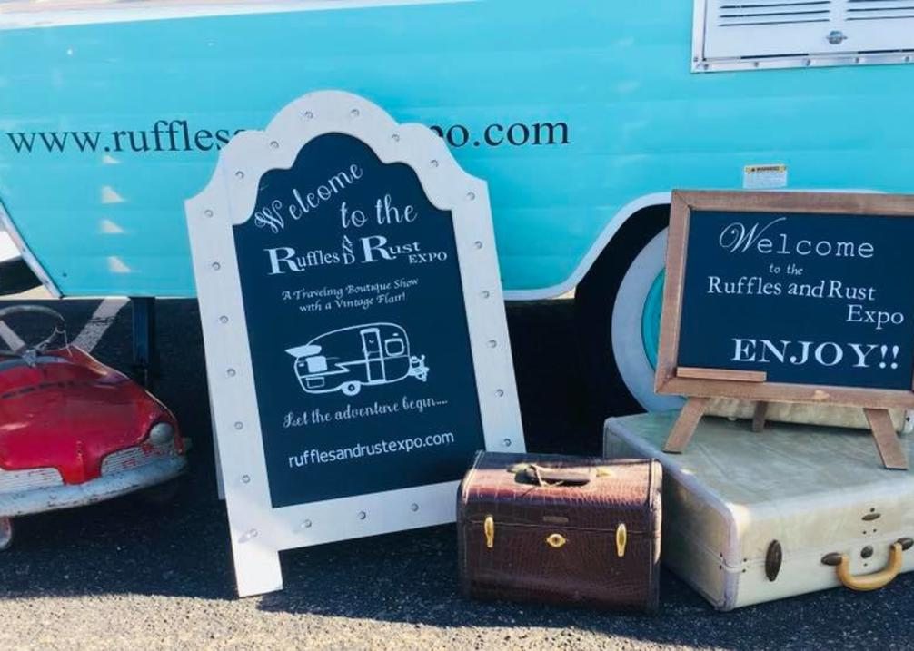 Ruffles And Rust Expo Spring Show