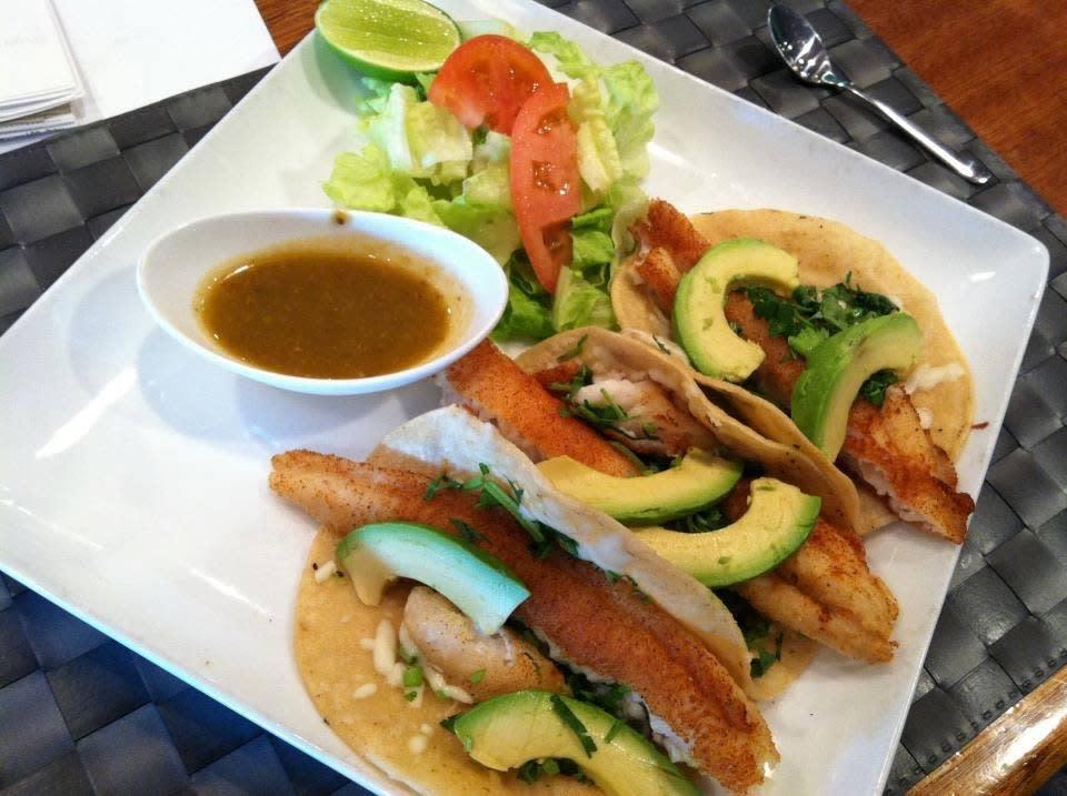 El Sarape Seafood Tacos