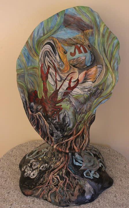 Oyster art - Normington