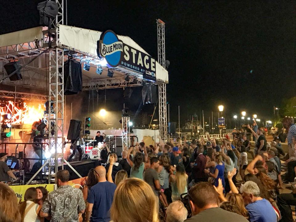 Blue Moon Stage at Go Go Gadget Show in Waterside District