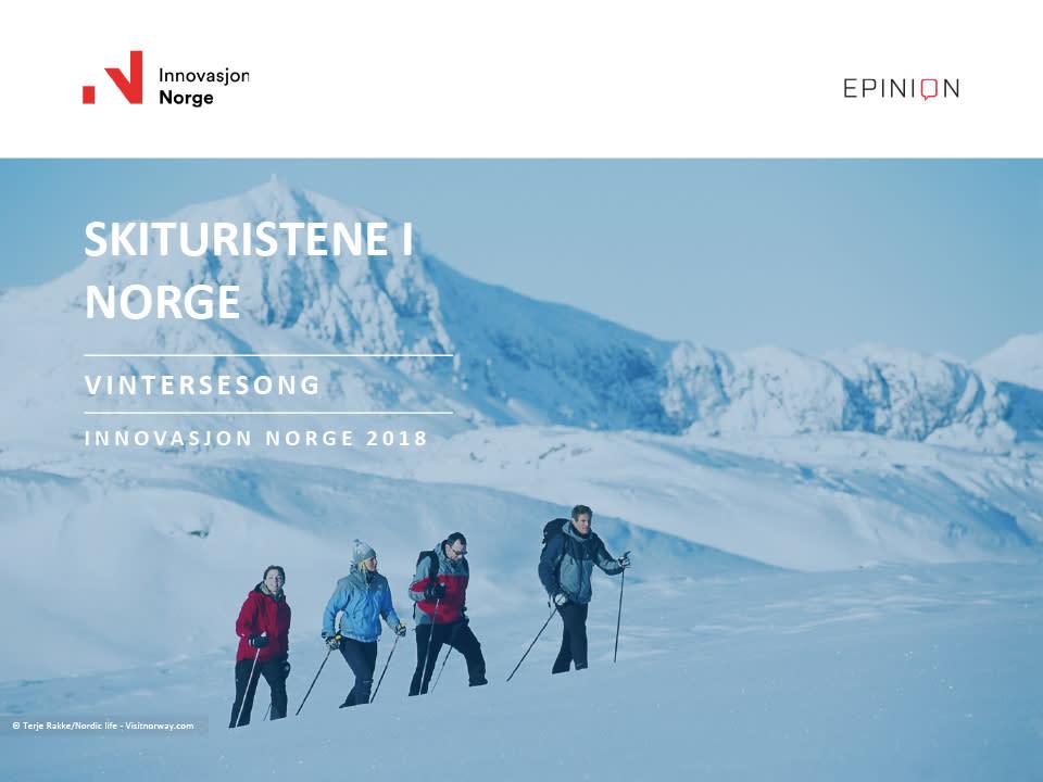 Innovasjon Norge - Turistundersøkelsen 2018 - Skirapport