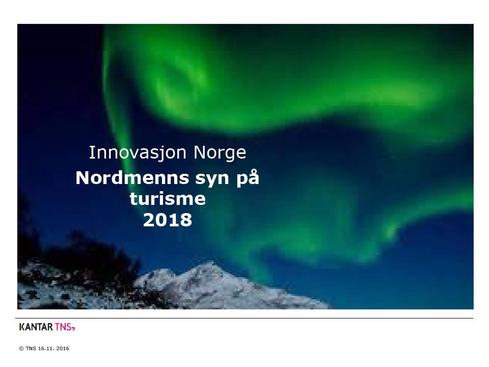 Dette mener nordmenn om turisme