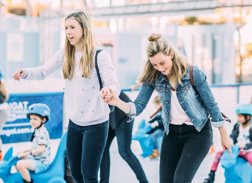Cool down this summer at Queen Victoria Market's ice rink