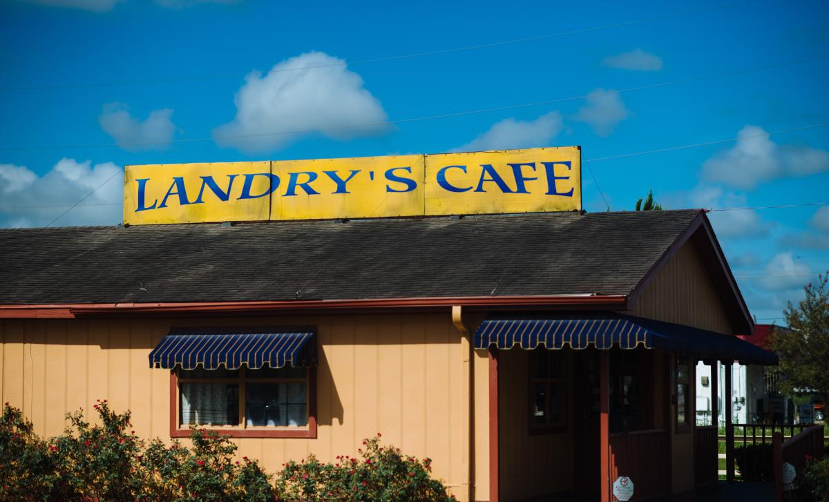 Landry's Cafe Exterior