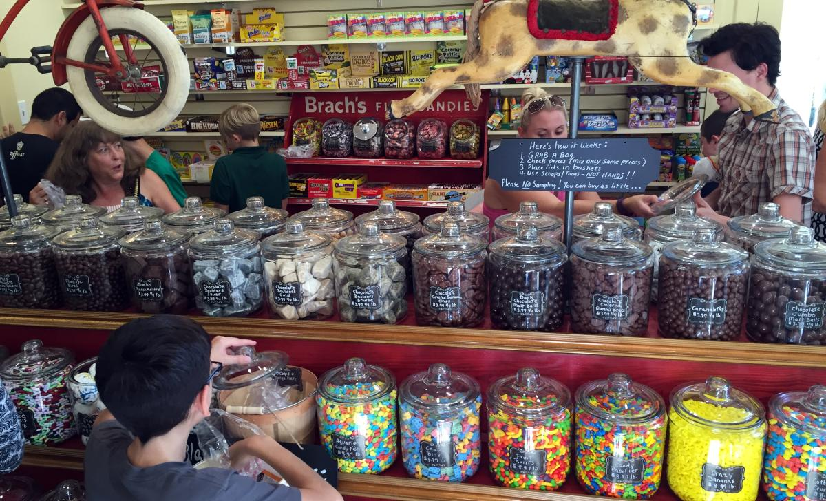 Customers at The Candy Bank in Louisiana Northshore