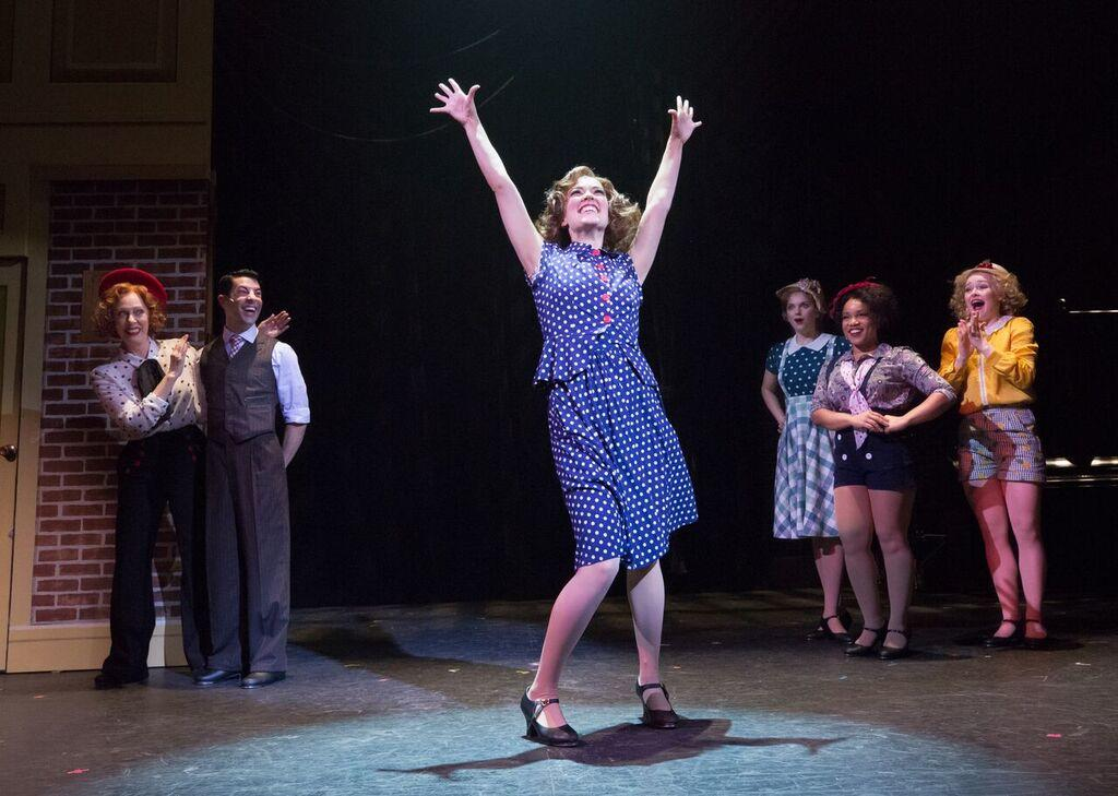 42nd Street Production - Go Into Your Dance performance