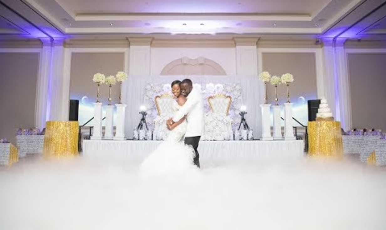 WEDDING HIGHLIGHT OF SANDRA & DR. OTEGA, ATLANTA GA