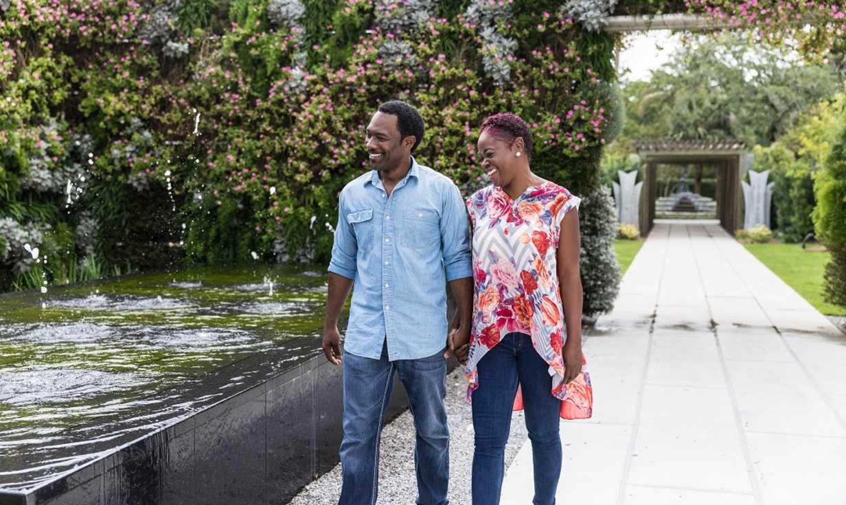 New Orleans Botanical Gardens Couple