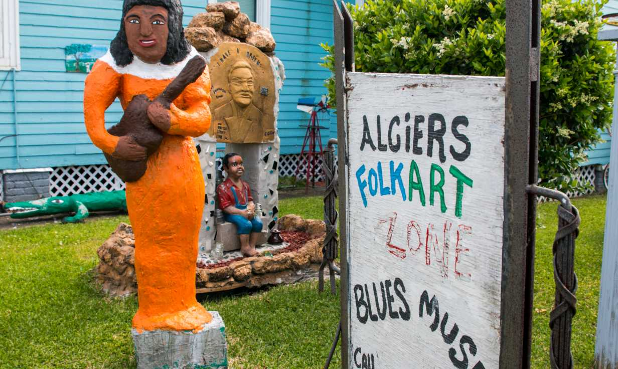Algiers Folk Art Zone and Blues Museum- Algiers Point Museum
