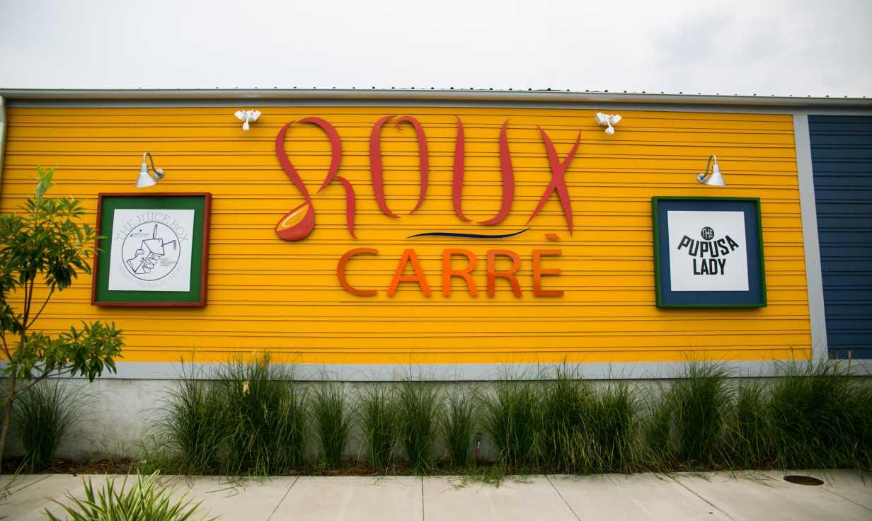 The Pupusa Lady- Roux Carre