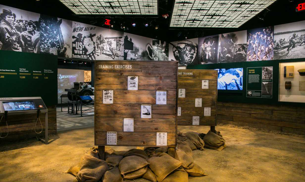National WWII Museum Exhibit #5